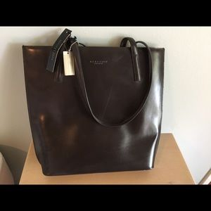 NWT - black Kenneth Cole purse set - leather